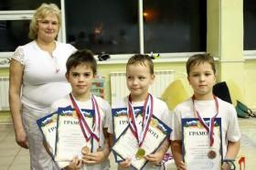 Вручение дипломов и медалей младшим участникам