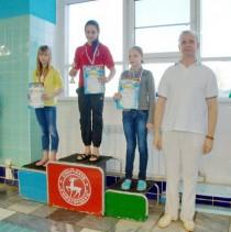 Победительница соревнований Халевская Анна