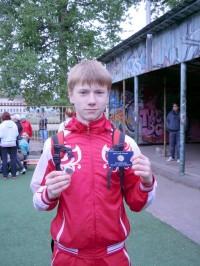 Гладышев Михаил - серебряный значок ГТО
