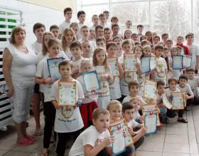 Первенство СДЮСШОР «Дельфин» по плаванию в ластах