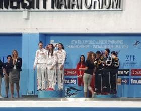 Поздравляем Буйную Василиссу с новым успехом на Первенстве мира по плаванию!