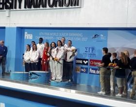 Первые успехи на Первенстве мира по плаванию 2017 года