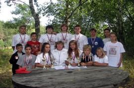 Группа 'Подводный спорт' с тренером Антоновой