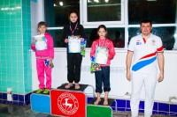 Анна Халевская I место на дистанции 50 м на спине
