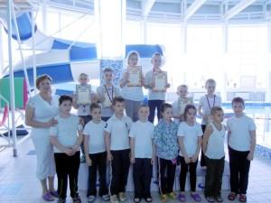 Группа 2006 и моложе с тренером З.С. Липовской