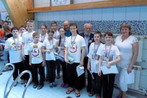 Наша команда с французами Андрэ Лобан и Даниель Мерсье