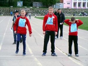 Захаров Д,Стыкут Д,Гобачев А. на дистанции 1000м ст. Водник