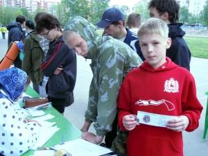 Захаров Дмитирий - серебряный значок ГТО