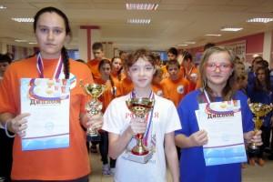 Кубок в командном зачете вручили капитану Борисовой А.