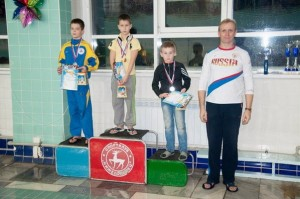 Марк - бронзовый призёр 50 м вольный стиль
