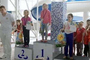 Матвеенко Ирина 50 м кроль - III место