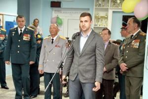 Поздравление от министерства спорта НО в лице Потапова Д. Л.