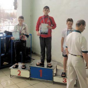 Харитонов Андрей 50м вольный стиль