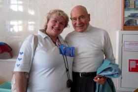 Андре Лабан и тренер Липовская З. С.