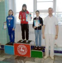 Победительница соревнований Добровольская Екатерина
