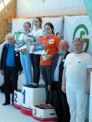 100м I место - Харюнина А. II место - Гафарова Алсу