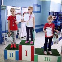 Ермилова Анна II место 25 м брасс