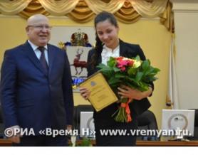 Лучших нижегородских спортсменов наградили в Кремле