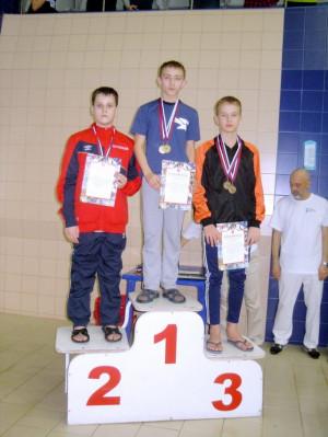 Краснов Даниил II место на 800м