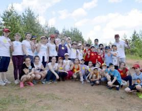 Cпортивный праздник, посвящённый Международному Дню защиты детей