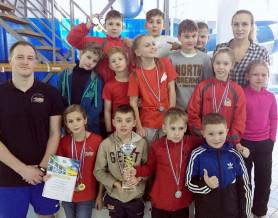 Областные соревнования по плаванию среди спортсменов 2006-2007 г.р.