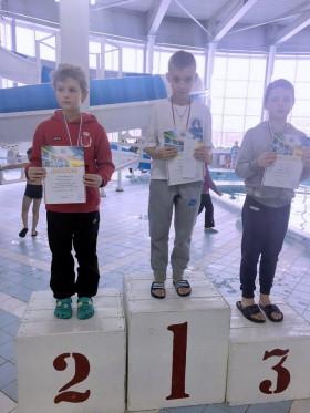 Добровольский Кирилл - 2 место 50м, баттерфляй