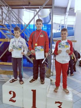 Харитонов Андрей - 1 место 100м, вольный стиль