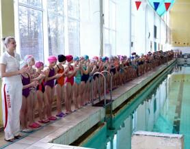 Первенство школы по плаванию среди групп водного поло