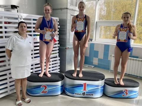 Победители среди девочек 2007 г.р. Тренер Федорова О.А.