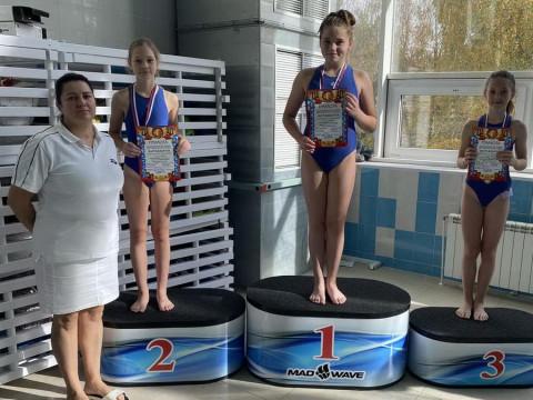Победители среди девочек 2009 г.р. Тренер Федорова О.А.