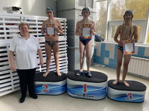 Победители среди мальчиков 2007г.р. Трнер Жукова М.Ю.