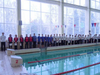 Парад открытия Чемпионата Нижегородской области по подводному спорту