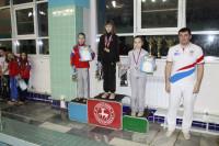 Екатерина Добровольская I место на дистанции 50 м брасс