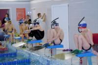 Сильнейший заплыв юношей