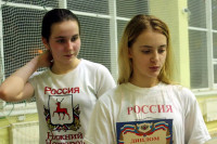 Ст.девушки Балова Д. и Новикова Ек.
