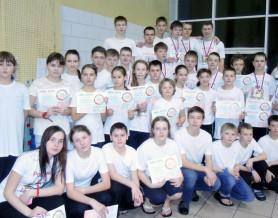Чемпионат Нижегородской области по подводному плаванию в ластах
