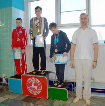 Победитель соревнований Фелоров Матвей