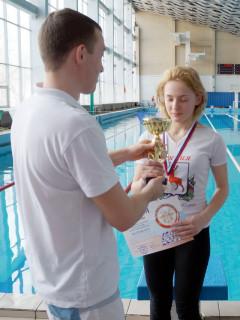Кубок Чемпионата НО получает Новикова Екатерина
