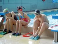 Подготовка к заплыву