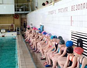 Первенство школы по плаванию в отделении водного поло
