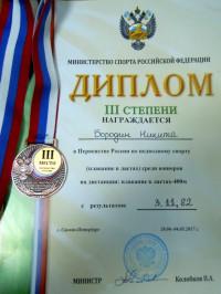 Диплом Бородин Никита