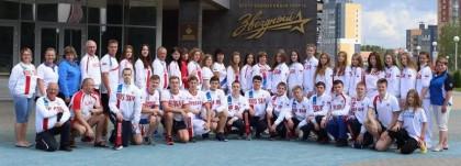Сборная России по подводному спорту - Томск