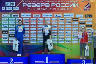 Резерв России - 1 место Щеглова Алена