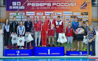 Резерв России эстафета - Федоров Матвей 2 место