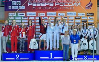 Резерв России эстафета - Щеглова, Павлычева 3 место