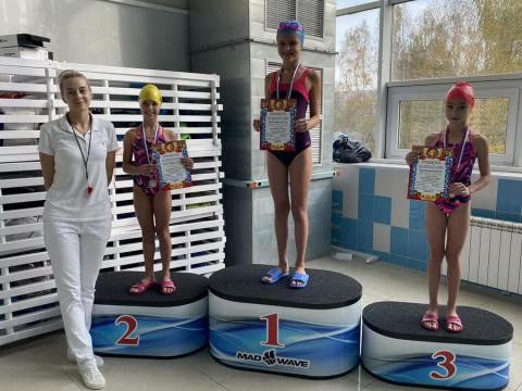 Победители среди девочек 2010 г.р. Тренер Кокрякова А.С.