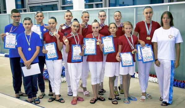 Первенство Нижегородской области по синхронному плаванию