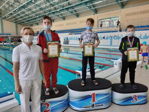 Соревнования  по плаванию 'Стану чемпионом!'