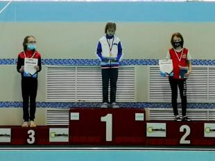 Второе место на дистанции 100м комплекс - Малыгина Мирослава