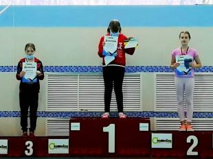Третье место на дистанции 100м вс - Фролрова Елизавета